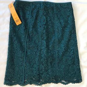 Tory Burch Lace Skirt